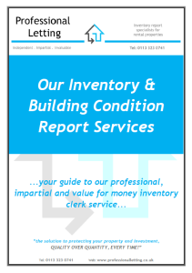 Report Services Cover